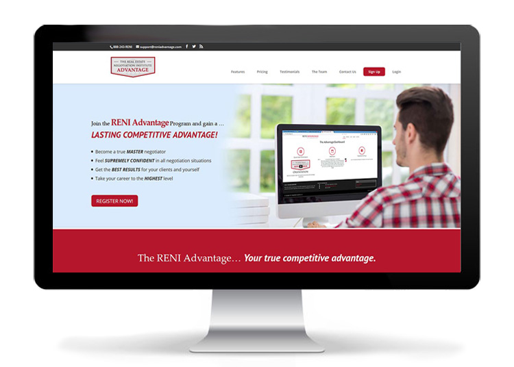 Web Design - RENI Advantage Program