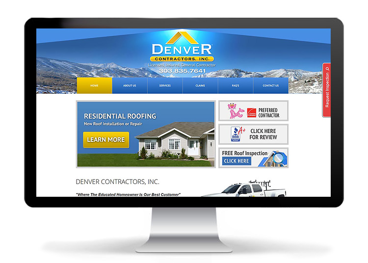 Web Design - Denver Contractors, Inc.