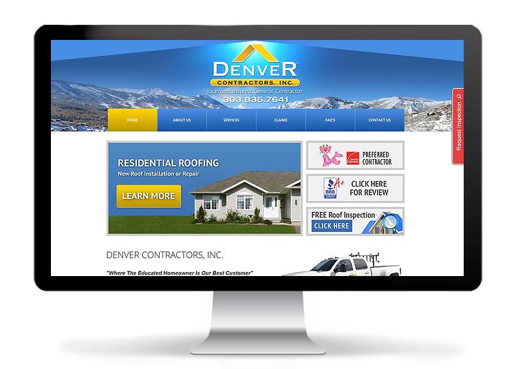 Web Design - Denver Contractors, Inc.